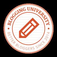 Blogging U logo