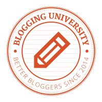Blogging U logo